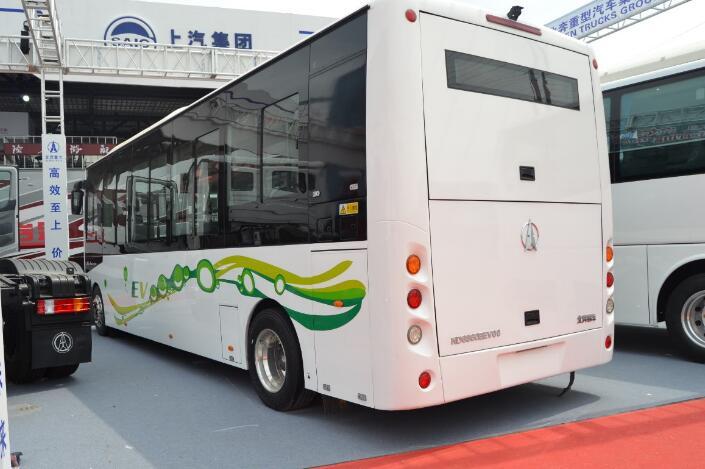 北奔纯电动客车参展2018北京国际车展