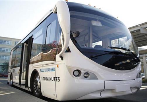 AVM新款电动客车 充电只需10分钟