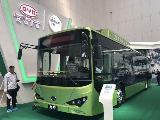 比亚迪将与美国混合动力公司合作研发氢燃料电池客车
