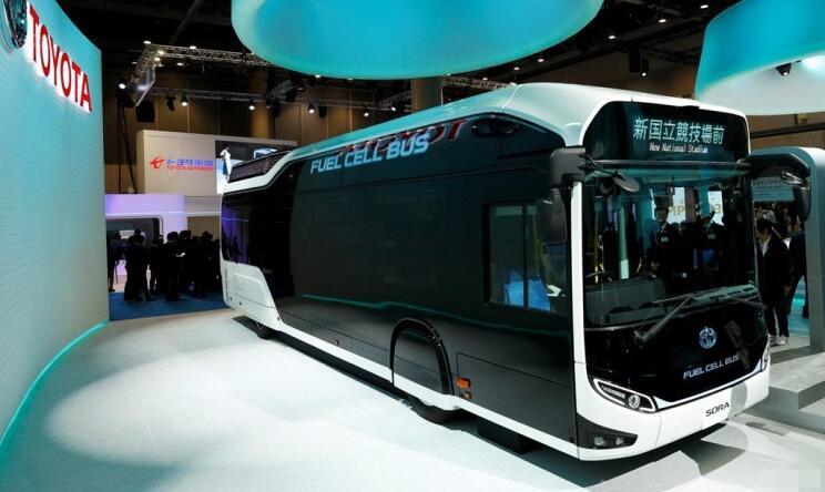 丰田燃料电池大巴Sora将在日本产销 2019年交付东京市