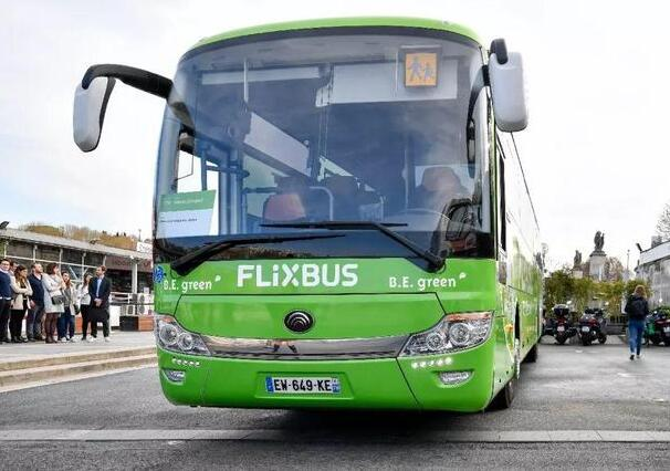宇通ICe12型电动客车为欧洲首条纯电动长途客运线客车