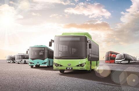 比亚迪全新C7&K7纯电动客车将在2018北京道路运输展发布