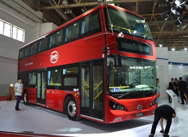 比亚迪双层电动客车K8S在西安生产 首批10辆车预计在7月下线