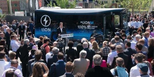 Lion Electric公司推出电动巴士eLionM 续航120-240公里