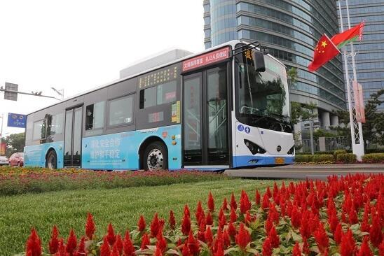 140辆比亚迪纯电动公交车服务青岛峰会