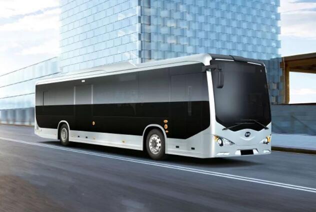 比亚迪获智利100台K9FE电动客车订单 K9FE电动客车续航250KM