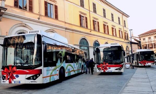 比亚迪获意大利6台12米纯电动客车订单