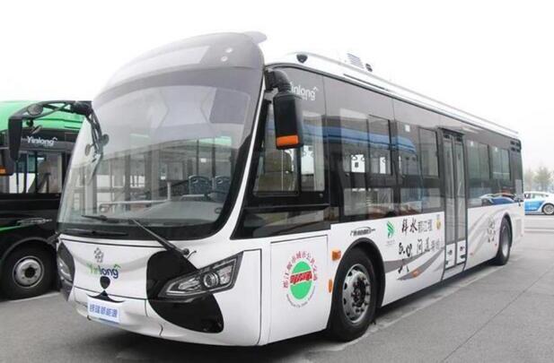 银隆推出熊猫造型新能源公交车