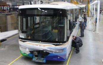 安捷集团将采购华晨新能源巴士500辆