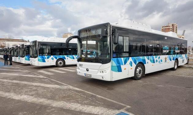 20辆宇通纯电动客车交付保加利亚