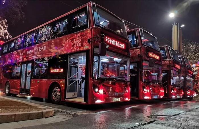 200辆比亚迪K8S纯电动双层大巴投放西安公交 续航超300公里