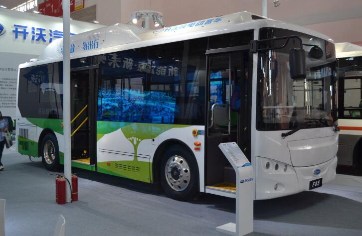 2019开沃将推出12米电动双层巴士和10.5米氢燃料电池客车