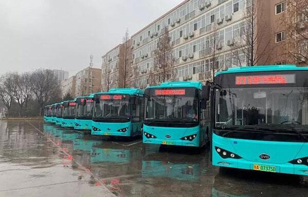 800辆比亚迪K9电动客车投放西安公交