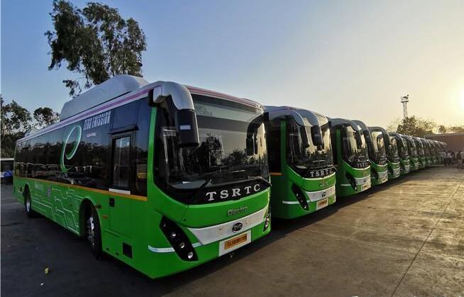 40辆比亚迪电动客车交付印度海德拉巴