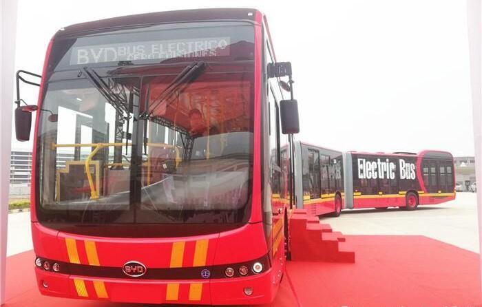 比亚迪K12A电动客车发布 全球最长双铰接电动大巴|续航300KM