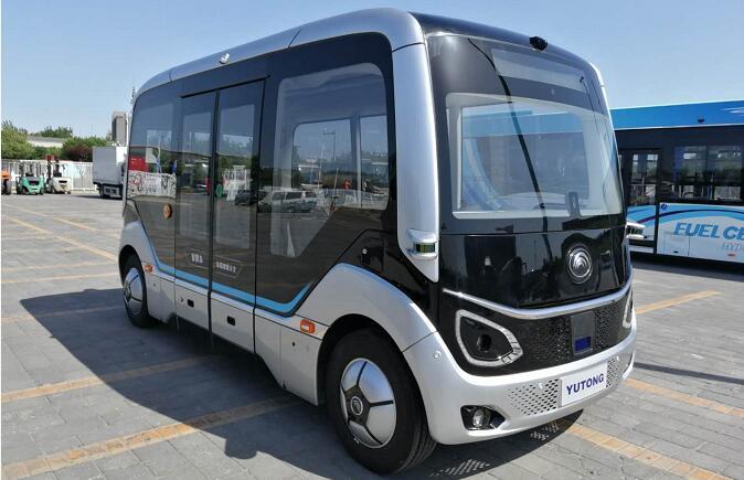宇通自动驾驶巴士和纯电动客车E10等亮相2019北京道路运输展