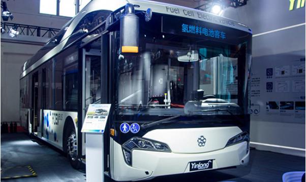 银隆新一代氢燃料电池客车,高铁级公交车,物流车亮相道路运输展