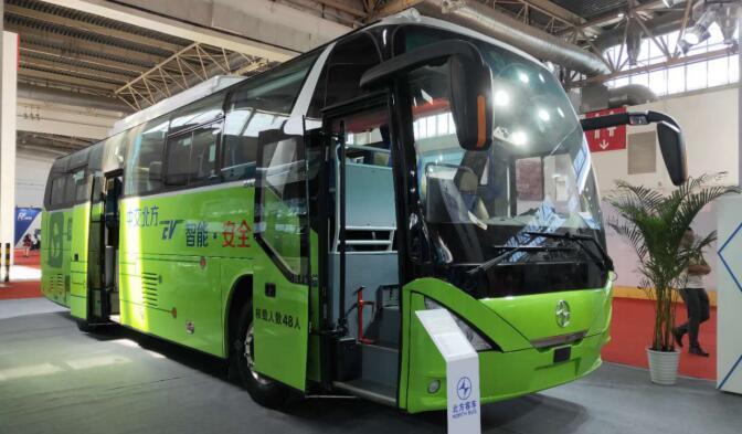 """""""北方""""两款智能绿色精品客车亮相第十五届交通运输展"""