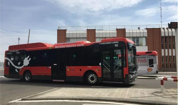 金龙客车PE12纯电动公交客车登陆西班牙