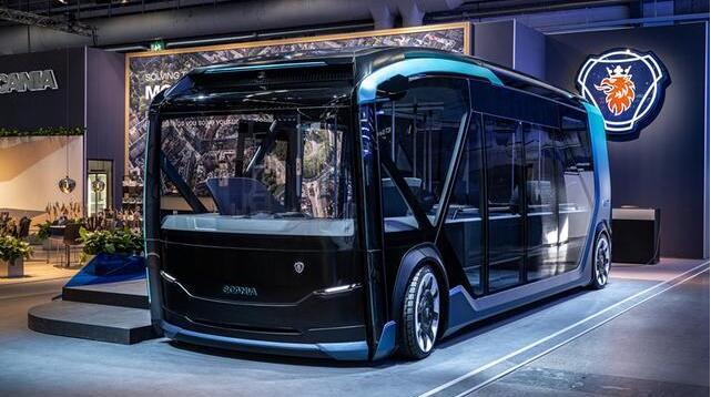 斯堪尼亚电动客车亮相UITP全球大众交通峰会 续航245公里