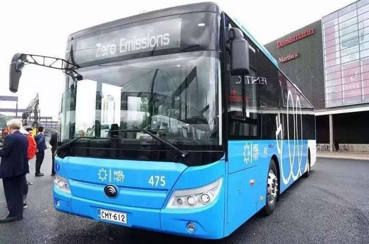 33辆宇通纯电动公交客车交付芬兰赫尔辛基