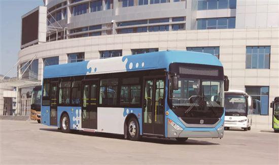 中通电动客车中标太原公交284辆纯电动公交车