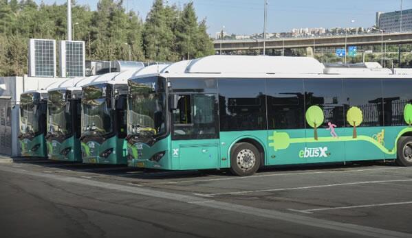 10台比亚迪电动客车暨电动公交车交付以色列耶路撒冷公交公司