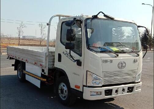 一汽解放青岛汽车旗下纯电动卡车CA1048P40L2BEVA84申报图