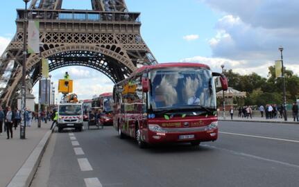 10辆宇通ICe12纯电动客车在法国普罗旺斯地区艾克斯投入运营