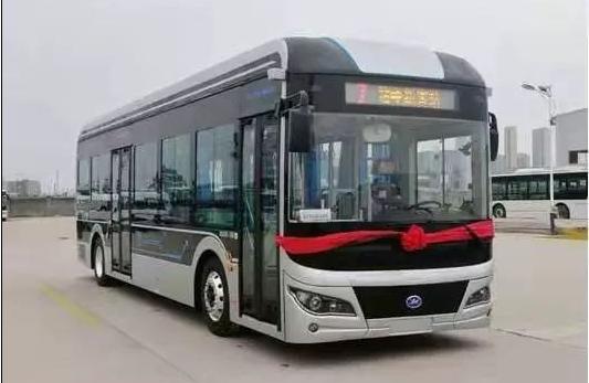 宜春客车研发新一代纯电动公交车下线