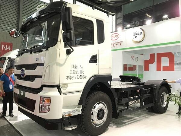 比亚迪商用车亮相2018亚洲物流双年展
