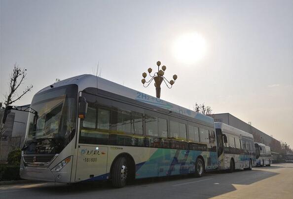 中通客车40台10.5米氢燃料公交即将交付大同 续航超500km