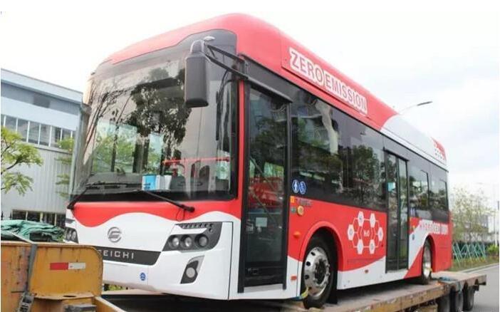 飞驰氢燃料电池客车出口马来西亚 中国氢燃料电池客车首单出口