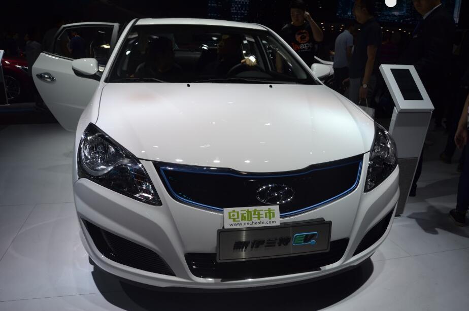 电动车市2018北京国际车展特别报道:北京现代新伊兰特EV