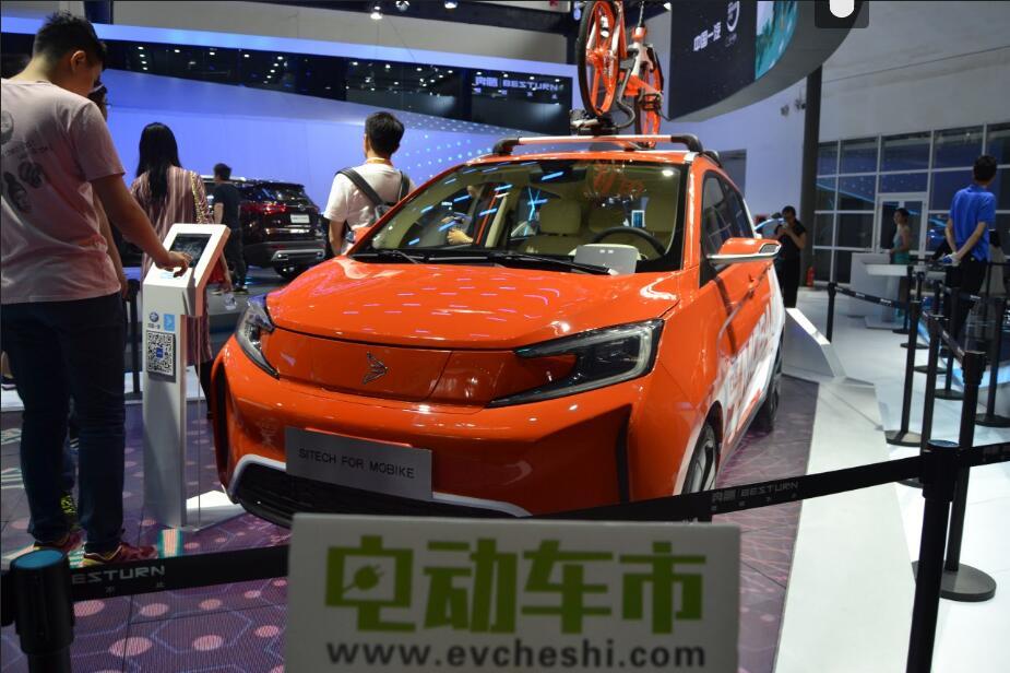 电动车市2018北京国际车展特别报道:新特首款电动汽车DEV1