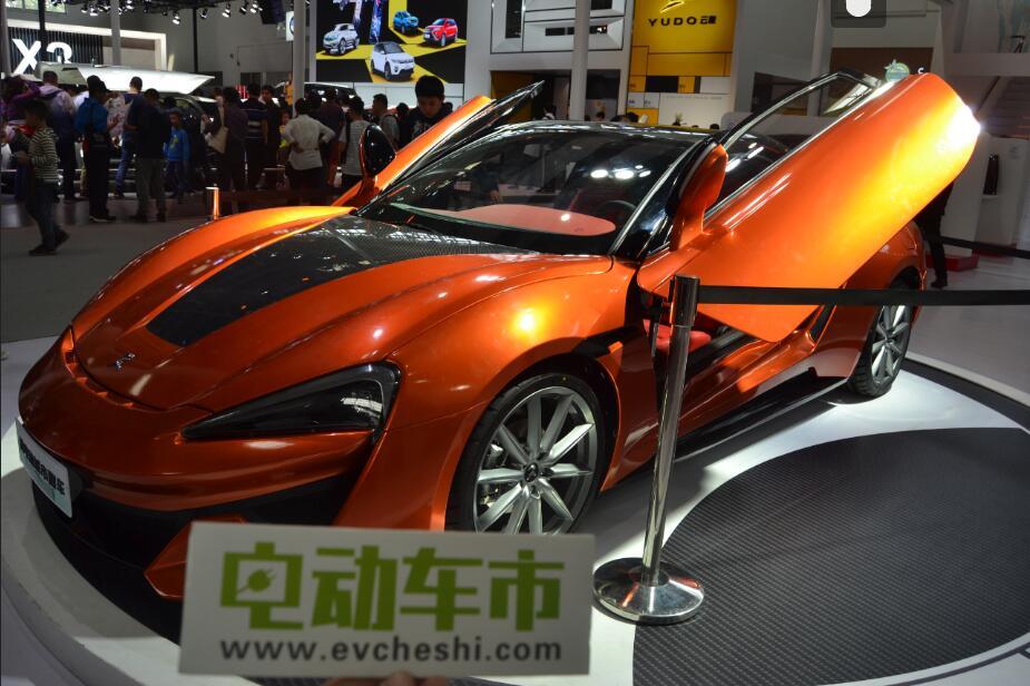 电动车市2018北京车展报道:重庆快星新能源汽车 KDC超级跑车