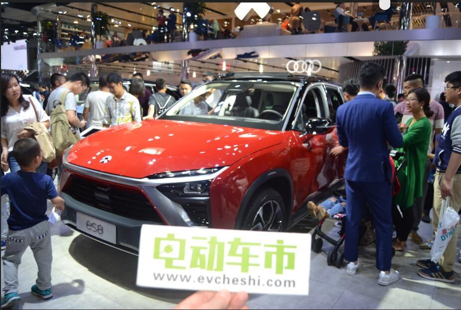 电动车市2018北京国际车展特别报道:蔚来NIOEP9 蔚来ES8