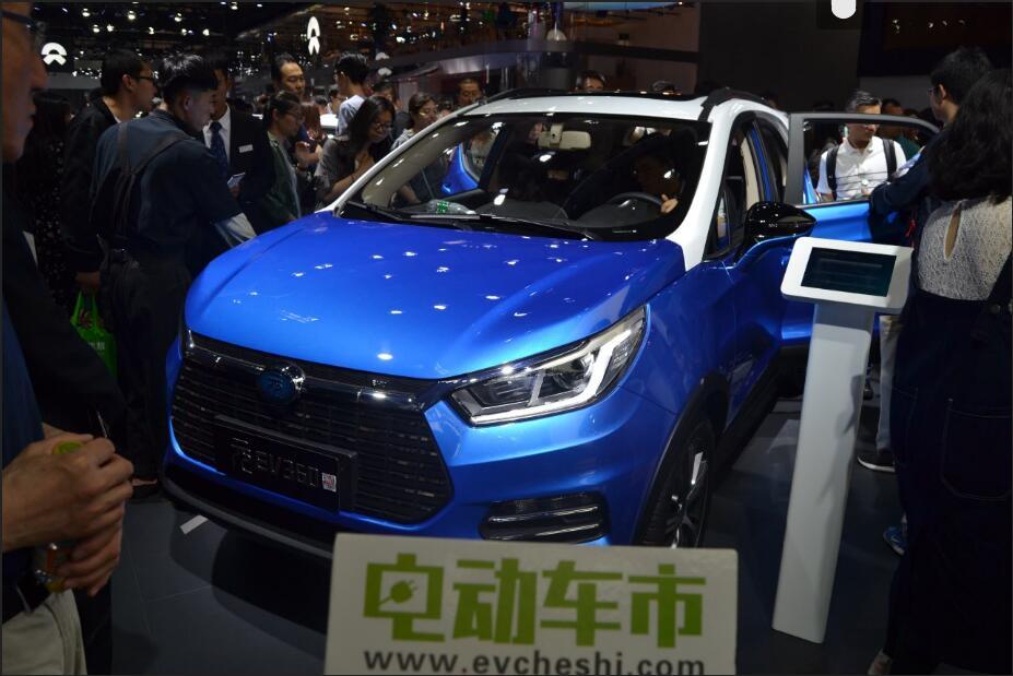 电动车市2018北京车展特别报道:秦EV450 元EV360 宋EV400