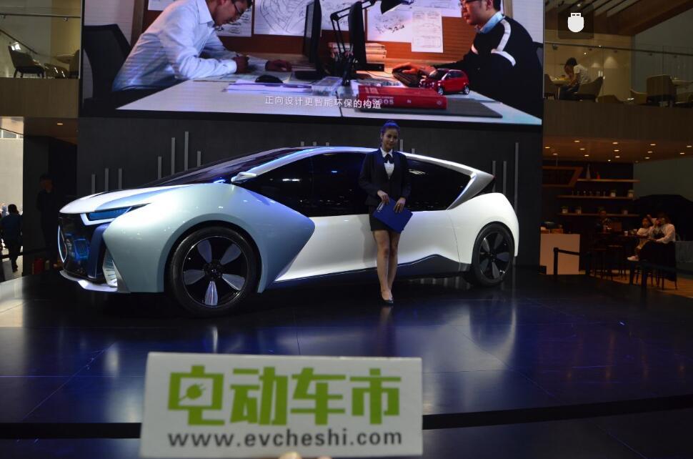 电动车市2018北京国际车展特别报道:长江汽车全新电动概念车
