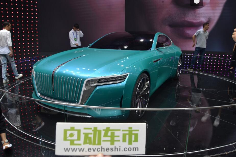 电动车市2018北京国际车展特别报道:红旗电动车EHS3及概念车