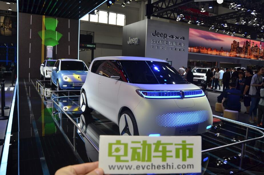 电动车市2018北京车展特别报道:长城电动车欧拉R1 R2概念车