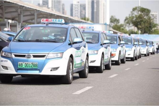 深圳:7月底起新增网约车全部纯电动车 年底出租车全部电动车