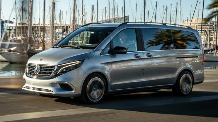 奔驰EQV量产版2019年9月法兰克福车展正式亮相 续航400公里