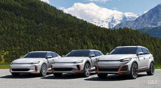 新品牌新能源车-威马电动轿车/跨界旅行车和SUV车型曝光