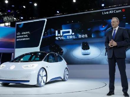 2020年大众将在华销售40万辆电动车 首款车为高尔夫电动版