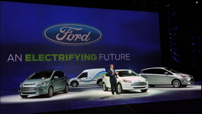 长安福特首款电动车明年上市 未来8年福特70%在华汽车为新能源汽车