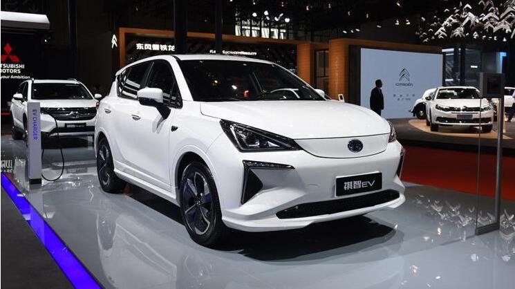广汽三菱新款祺智EV亮相2019上海车展 最大续航410km