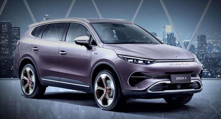 腾势X将于2019广州车展上市 续航超500km|定位7座中型SUV