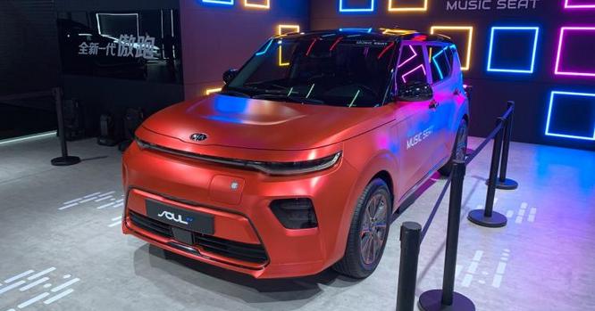 起亚Soul EV在2019广州国际车展正式首发 续航475KM