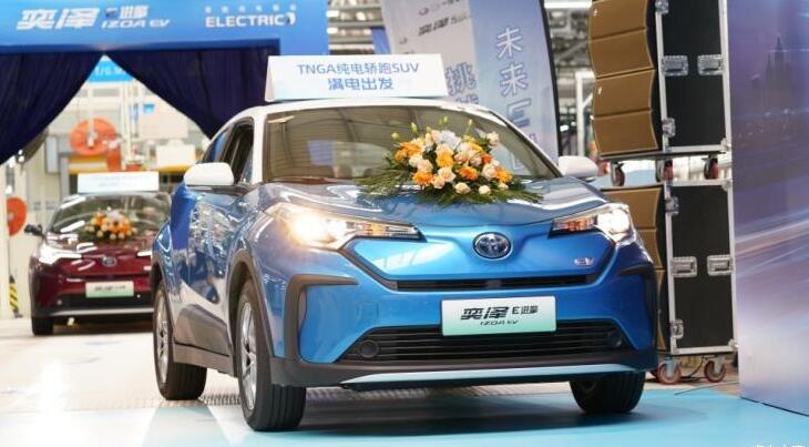 一汽丰田首款纯电动SUV——奕泽IZOA E进擎5月20日上市